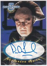 Babylon 5 Profiles A3 Peter Jurasik As Londo Mollari Autograph
