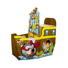 Disney Junior Jake Shooter Child Kid Activity Tunnel Basketball Boat Play Tent