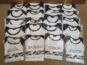 Job Lot 20 Lazer Blade long sleeved T-shirts, Vintage NOS New Old Stock