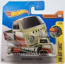 Hot Wheels Volkswagen T2 1968 Bay Window Pickup Truck - short card