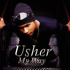 USHER - My way - MONICA CD 1997 NEAR MINT CONDITION