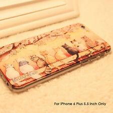 iPhone 6 Plus Case, [Non-Slip] [Exact-Fit] iPhone 6+ Case Slim Cute 3D Cats Case