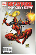 DEADPOOL: MERC WITH A MOUTH #7 | 2nd Print Variant | 1st Lady Deadpool | NM-