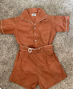 Vintage JACK TAR TOGS, Child's School Uniform Romper, 1940's? RARE