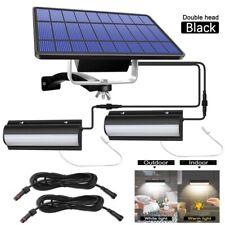 Solar Pendant Light Waterproof Garden Auto On Off  Solar LED Lamp W/ Pull Switch