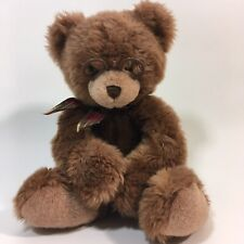 """Gund Plush Booker Brown Bear With Glasses 15"""""""
