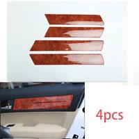 FOR HONDA CR-V CRV 2007-11 Peach wood grain interior inner door panel cover trim