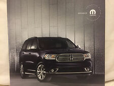 2017 DODGE DURANGO ACCESSORIES MOTOR CAR SALES BROCHURE BOOK