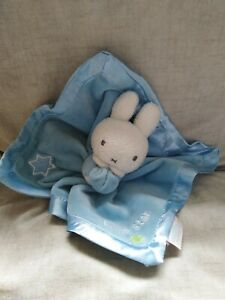 Miffy Little Star Comforter pale Blue some pulls on ribbon see photos
