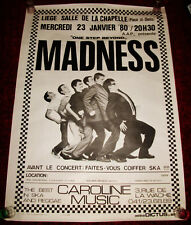 Madness 8 English SKA Band Graham Suggs McPherson Dikron Tulane Music Poster