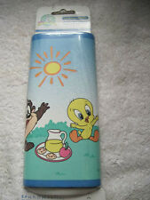 15 Yards Baby Looney Tunes Themed Self Adhesive Wallpaper Border Garden Party