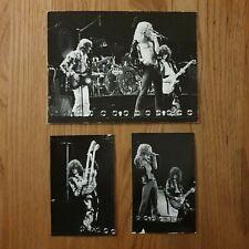 LED ZEPPELIN 1975 Earls Court Original Photos X 3 Unpublished