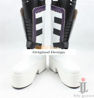 Pandora Hearts Xerxes Break Boot Party Shoes Cosplay Boots Custom-made