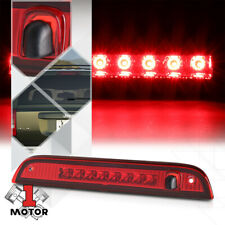 Chrome/Red LED Third[3rd]Brake Light Lamp w/Washer Nozzle for 07-17 Jeep Patriot