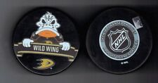 Wild Wing Anaheim Ducks Mascot Souvenir Hockey Puck Inglasco