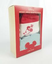 New listing Disney Infart Girls Swim Bloomers by Junk Food Size 6 To 9 Months Mickey Mouse