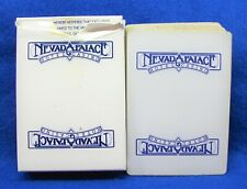 Vintage Nevada Palace Hotel Casino Vegas deck of playing cards unsealed