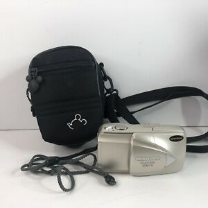 Olympus Stylus Epic Zoom 115 Deluxe All Weather 35mm Camera & Disney Pouch