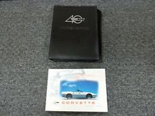 1993 Chevy Corvette Coupe Convertible Owner Owner's Manual User Guide ZR1 5.7L