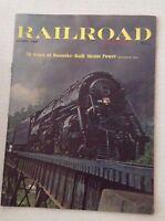 Railroad Magazine 76 Years Of Roanoke Steam Power August 1964 012217RH