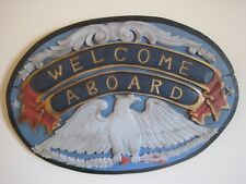 Nautical wooden plaque - $149.95