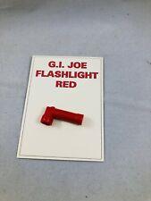 Vintage GI Joe Flashlight Red
