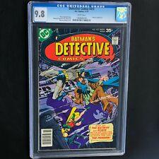 Detective Comics #473 (DC 1977) 💥 CGC 9.8 White 💥 1 OF 28! Penguin App! Batman
