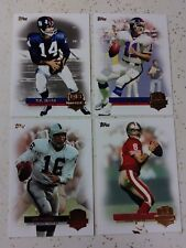 QB IMMORTALS - YOUNG, TITTLE, PLUNKETT & SIMMS NM! *2012 TOPPS*