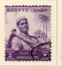 Egypt 1954-55 Early Issue Fine Used 2m. 221895