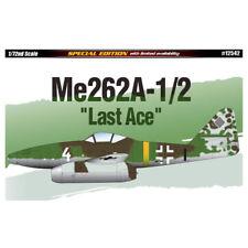 ACADEMY #12542 1/72 Plastic Model Kit Me262a-1/2 Last Ace