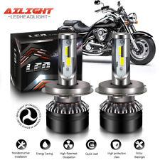 Motorcycle H4 Headlight Bulb For Kawasaki 2009-2012 VN1700 Vulcan Classic(LT)