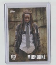 The Walking Dead Season 5 2016 Characters Trading Card #C-03 Michonne