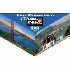 San Francisco Pigment & Hue Double-Sided Puzzle 500 Pieces XTRM DBL PZL