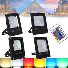 10-50W LED RGB Foco proyector Foco Exterior para ardín patios Jardin IP65