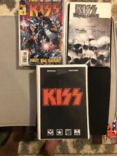 """""""KISS"""" complete """"Psycho Circus"""" & Photo/Art cover Dark Horse w/graphic Novels!"""