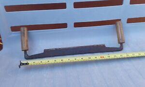 Antique / Vintage Carpenters Draw Blade Steel Old Tool.