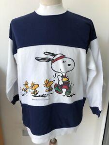 Vintage St Michael M&S Snoopy Peanuts Jumper Ladies 8-10