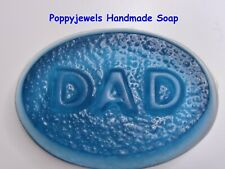 DAD HANDMADE SOAP BAR  SEA BREEZE FRAGRANCE OIL GIFT WRAPPED