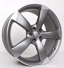 1x Original Audi S5 A5 B8 8T 19 Zoll Rotor Alufelgen S Line Grau 8T0601025CD