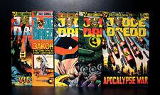COMICS: Eagle Comics: Judge Dredd #20-24 (1985), The Apocalyspe War - RARE