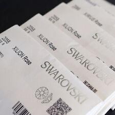 Genuine Swarovski® Flat Back Crystals All Sizes Crystal & AB Wholesale Prices