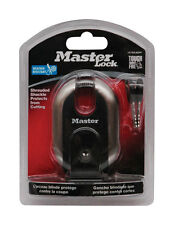 "Master Lock Padlock Titanium 2-5/16"" Keyed Different Clamshell"