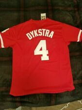 Lenny Dykstra Philadelphia Phillies 1991 Batting Practice Jersey M