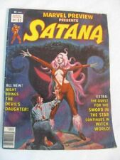Marvel Preview #7 ~  1st appearance of Rocket Raccoon, Satana cover ~ LOOK