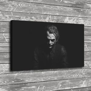 Heath Ledger Joker Home Decor Room HD Canvas Print Picture Wall Art Painting
