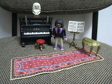 Playmobil - Victoriano Epoca Victoriana - Pianista Piano Busto - 5551 - COMPLETO