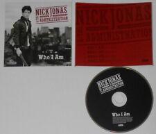 Nick Jonas - Who i Am EP-2009 ESTADOS UNIDOS Promo CD