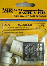 CMK CZECH MASTER'S KITS 4074 - Me-262A/B ENGINE SET - 1/48 RESIN KIT