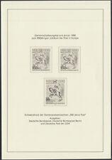 DDR 3299 S (*) Schwarzdruck,aus Jahreszusammenstellung 1990, mit Bund + Berlin