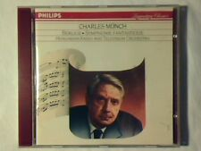 CHARLES MUNCH Berlioz: Symphonie fantastique cd WEST GERMANY PDO COME NUOVO